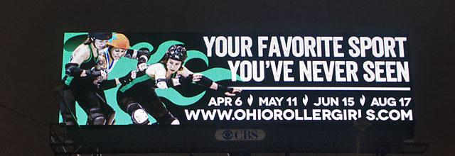 ohrg roller derby billboard