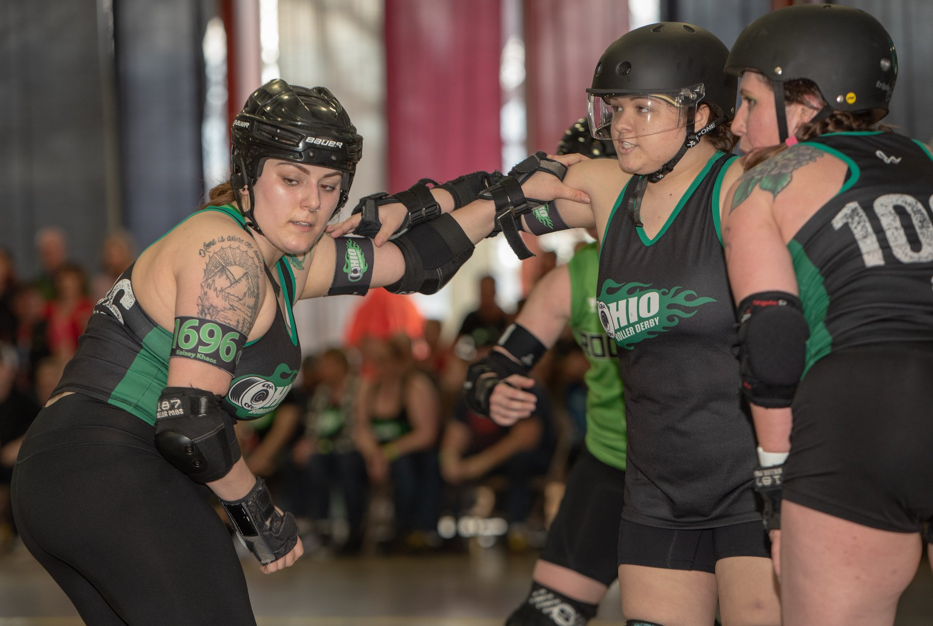 Kelsey Baby K Amy defense OHRD v Roc City 4.6.19 Chris Baker