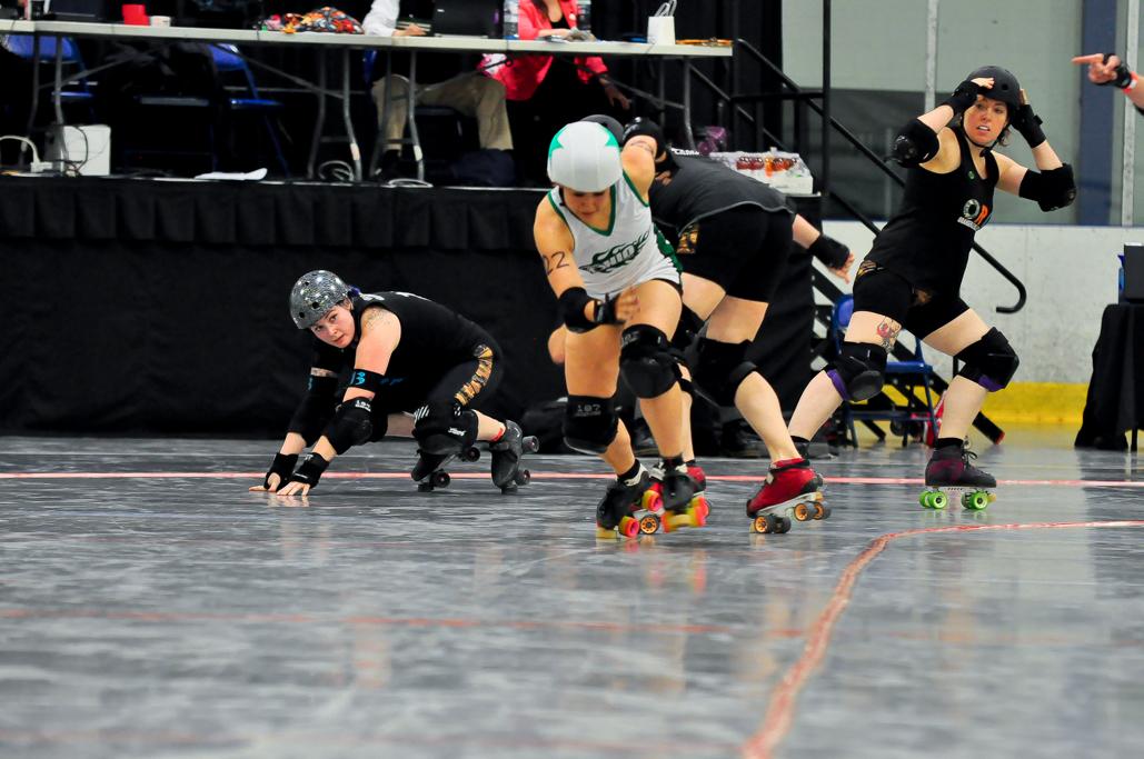 Mika shedding blockers OHRD v. Orangeville 5.3.19 Jammer Line