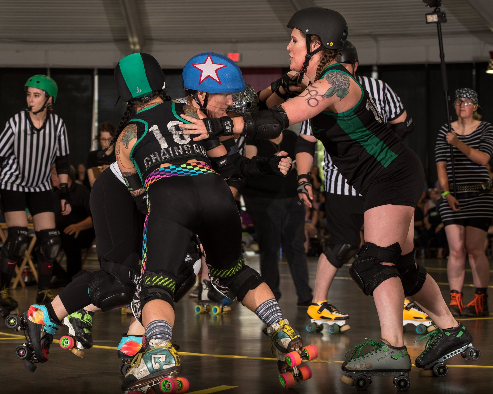 Chainsaw Amy blocking OHRD v Brandywine 6.8.19 Chris Baker