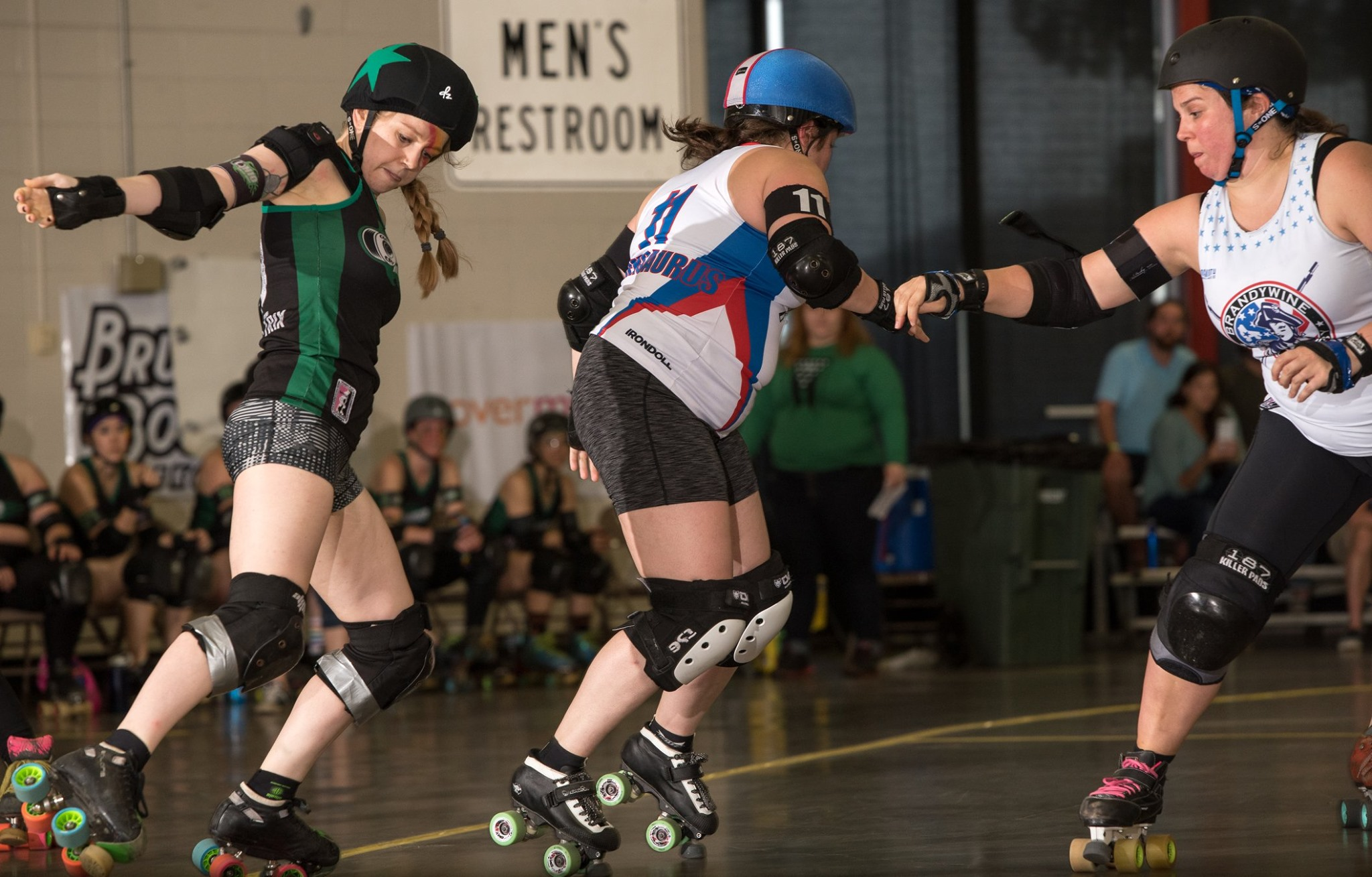Trix fancy outside line GG v Brawlers 6.8.19 Chris Baker