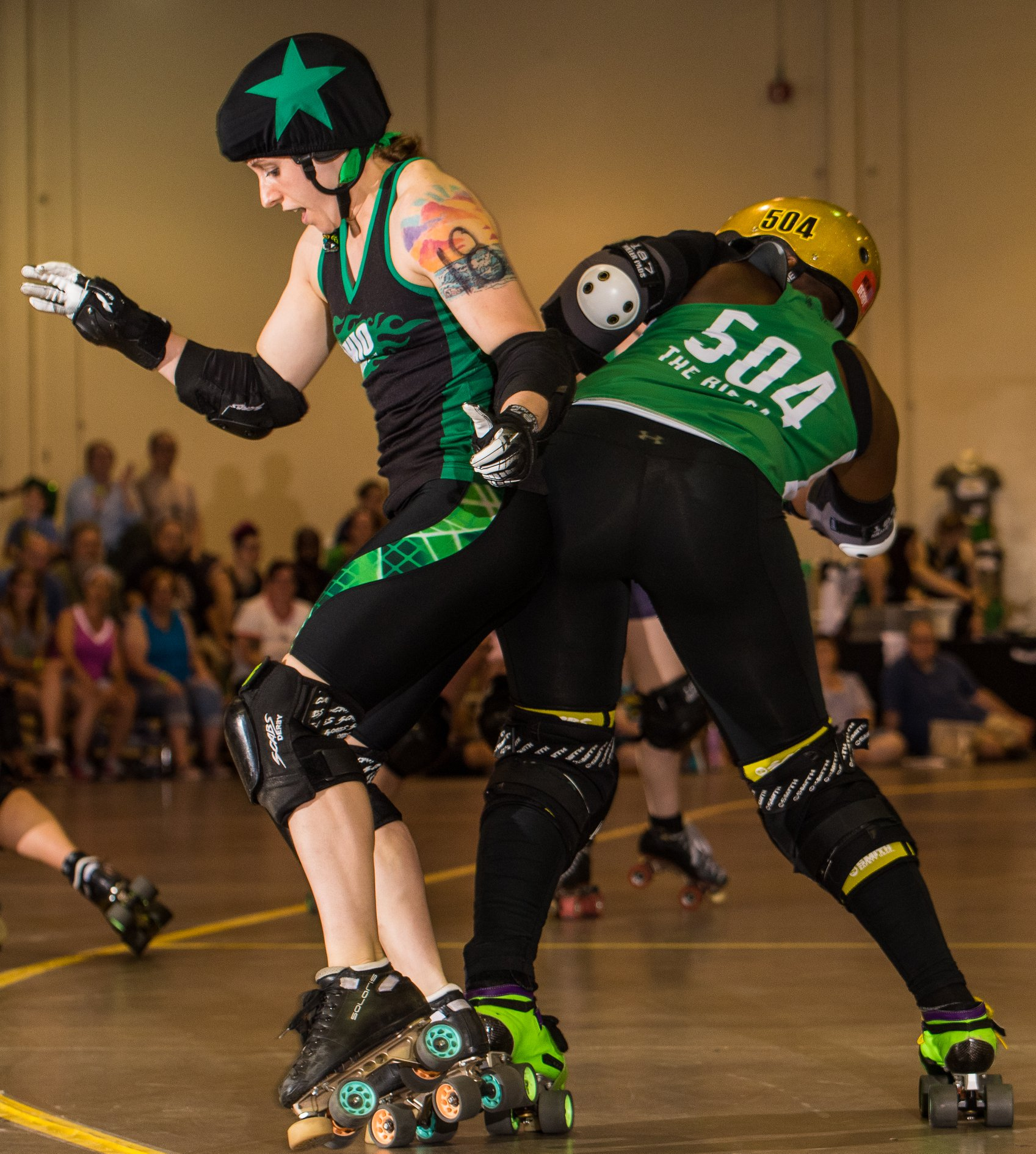 Rigg spinning off blocker OHRD vs Classic City 6.29.19 Chris Baker
