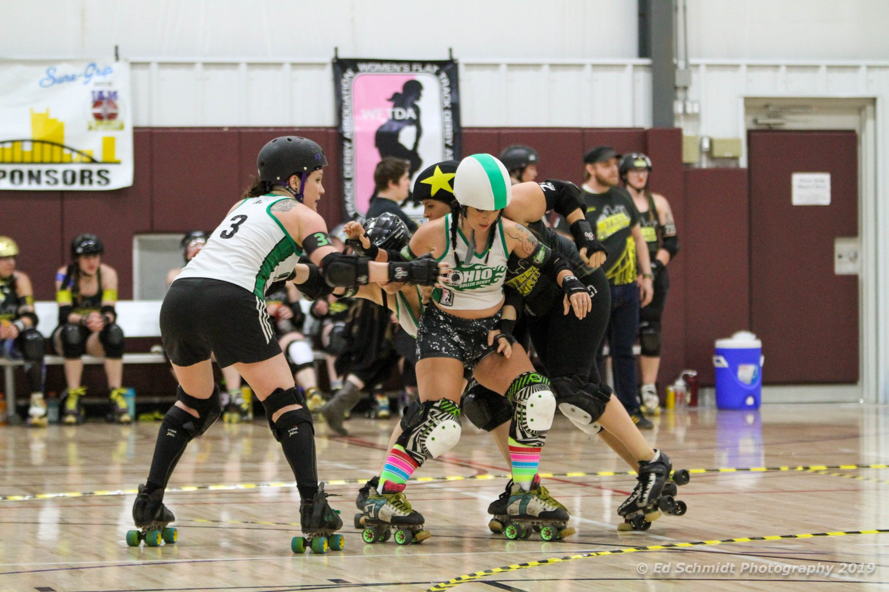 Betty Chainsaw blocking OHRD v Steel City 5.18.19 Ed Schmidt Photography